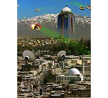 Meanwhile At Kabul Galactic Photographic Print