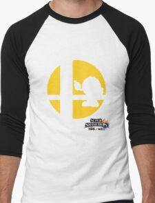 Super Smash Bros - Pac-Man Men's Baseball ¾ T-Shirt