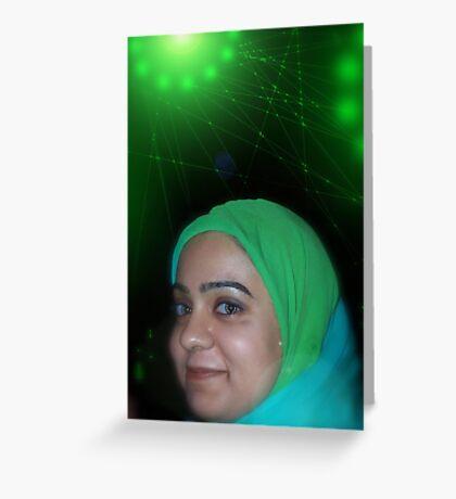 Miricles of Vision Restoration at the Pakistani Starfleet Med Lab Greeting Card