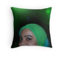 Miricles of Vision Restoration at the Pakistani Starfleet Med Lab Throw Pillow