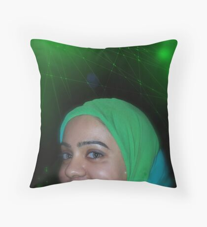 Miricles of Vision Restoration at the Pakistani Starfleet Med Lab Throw Pillow
