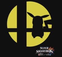 Super Smash Bros - Pikachu by WillOrcas
