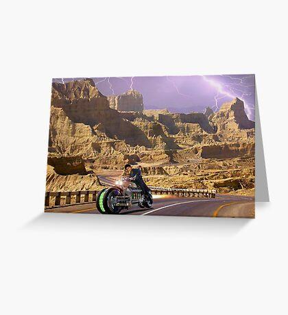 Zabber Dast Pakistani Hyper Drive Cycle V-400 Greeting Card