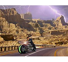 Zabber Dast Pakistani Hyper Drive Cycle V-400 Photographic Print