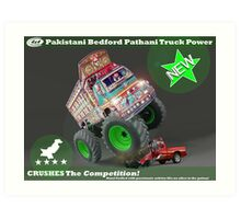 Pakistan's Newest Line-up of Rugged Hand Crafted Utility Vehicles Art Print