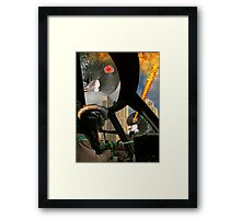 Pilot Ali Akbar is the Greatest! Framed Print