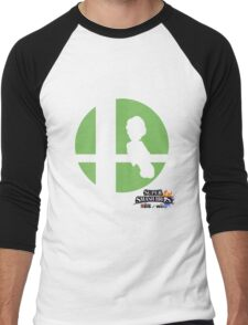 Super Smash Bros - Luigi Men's Baseball ¾ T-Shirt