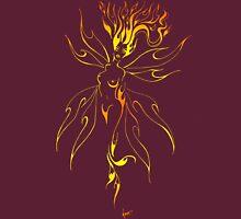 fiery fiery faerie Womens Fitted T-Shirt
