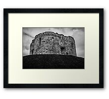 Clifford's Tower, York, England Framed Print