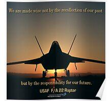 F/A 22 Raptor Poster