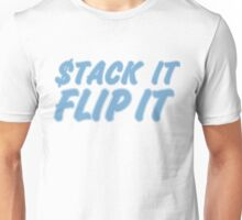 "STACK IT FLIP IT ""BLUE 11's"" Unisex T-Shirt"