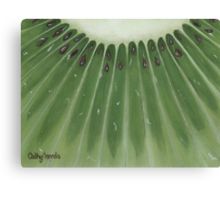 mini kiwi Canvas Print