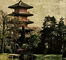 Antique Pagoda by Alison Cornford-Matheson