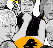 Karate Kid 30th Anniversary Tribute Sticker