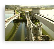 Conwy bridge Canvas Print