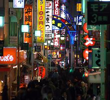 Shinjuku Lights by Michael Lane