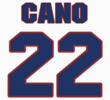 National baseball player Robinson Cano jersey 22 by imsport