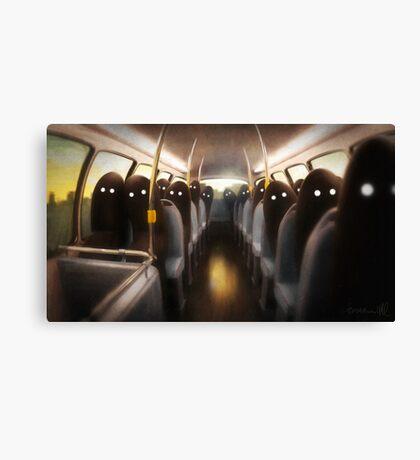 Commuters Canvas Print