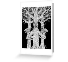 Denizens of the Diabolic Wood Greeting Card