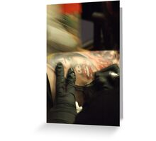 Ink Addiction Greeting Card