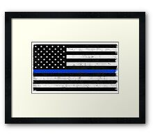 Those In Blue Framed Print