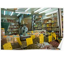 The spices shop Poster