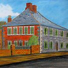 211 - RIDLEY ARMS HOTEL, BLYTH - DAVE EDWARDS - COLOURED PENCILS - 2008 by BLYTHART