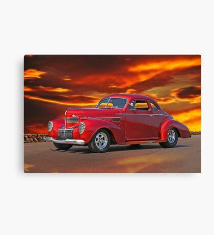 1939 Chrysler Royal Coupe Canvas Print