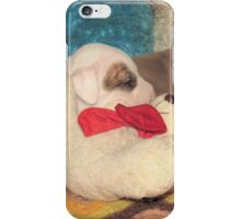 Not A Puppy Was Stirring ~ iPhone Case/Skin