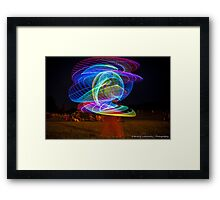 Amanda Hooping at a Concert Framed Print