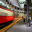 San Diego Downtown Trolley - Time to Go! by Philip James Filia