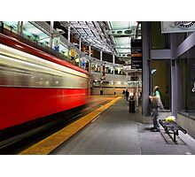 San Diego Downtown Trolley - Time to Go! Photographic Print