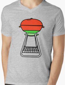 B-B-Q Mens V-Neck T-Shirt