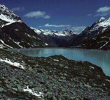 Along the Silvreta High Alpine Road by bertspix