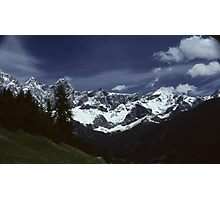 IN THE AUSTRIAN ALPS   (2) Photographic Print