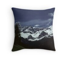IN THE AUSTRIAN ALPS   (2) Throw Pillow