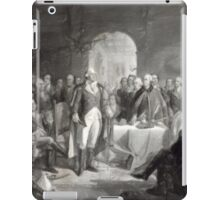 George Washington and His Generals--Oil Painting iPad Case/Skin