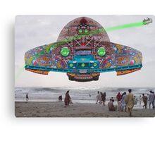 The Pakistani Starfleet's newest flagship, the P.S.F Abdus Salam Canvas Print