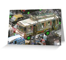 Islamabad Going Home Sky Traffic Greeting Card