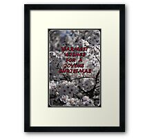 TO my RB friends....Warmest Wishes for a Joyous Christmas !! Framed Print