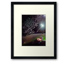 Karimabad Asteriod Colony in the Hunza Starsystem Framed Print