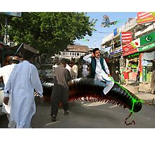 Abdur Rashid The Millipede Man Photographic Print