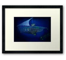 Pakistan's Deep Sea Dhowmarine Sub Division Framed Print