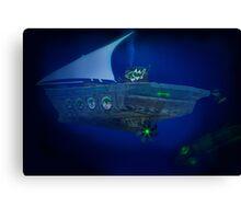 Pakistan's Deep Sea Dhowmarine Sub Division Canvas Print