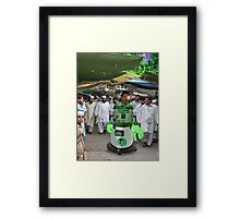 Robostani RB5-2-7000 Paves the way for a new hope Framed Print