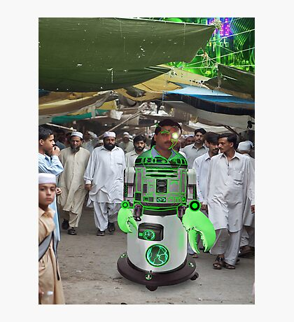 Robostani RB5-2-7000 Paves the way for a new hope Photographic Print
