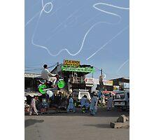 Atlas Honda Hover Bikes Mega Store Photographic Print