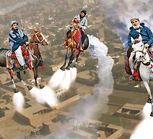 Peshawar پشاور Cronosphere Rocket Horse Racers by Kenny Irwin