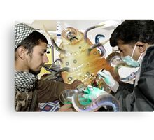 Wormulous Get's much needed Urgent Care at Pakistani Starfleet Med Lab Canvas Print