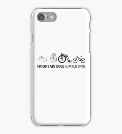 Mountain Bike Evolution iPhone Case/Skin